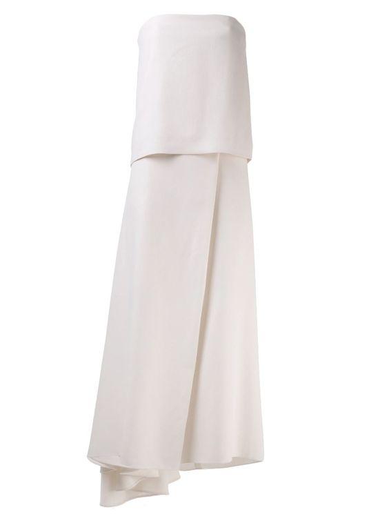 The Row - 'Barnabe' dress http://www.hiphunters.com/shop/the-row-the-row-barnabe-dress/53755b66bad020641856f400