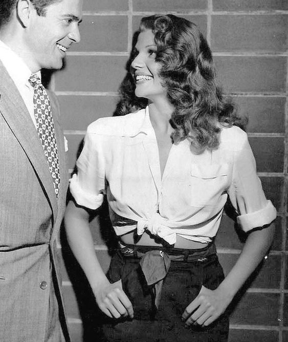 Rita Hayworth and Tyrone Power 1941