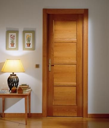 Dise o de puertas de madera modernas buscar con google - Colores de puertas de madera interiores ...