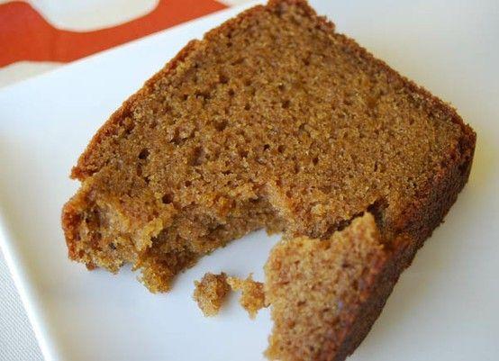 Starbucks pumpkin bread recipe!