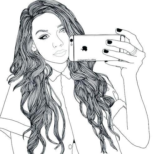 Pin On Tumblr Girl Drawing
