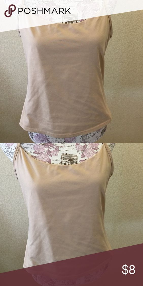 NY&Co Beige Cami This NY&Co Beige Cami has 8% spandex so it has some stretch to it. New York & Company Tops Camisoles