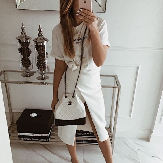 "Mint Label (@mint_label_) ""get it white - skirt RENNES #moda #style #look #fashion #inspiration #instagram"""