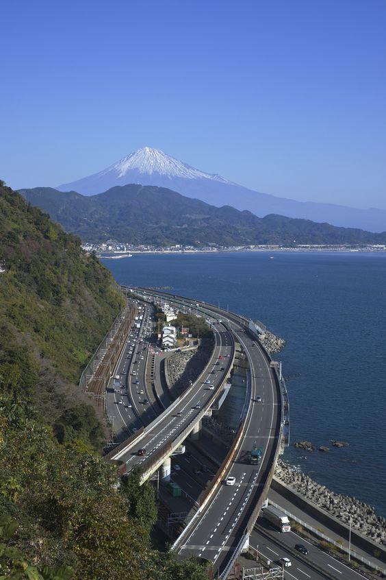 Mount Fuji from Satta pass view, Shizuoka