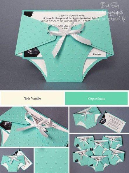 Baby shower invitations unique diy 61+  ideas #diy #babyshower #baby
