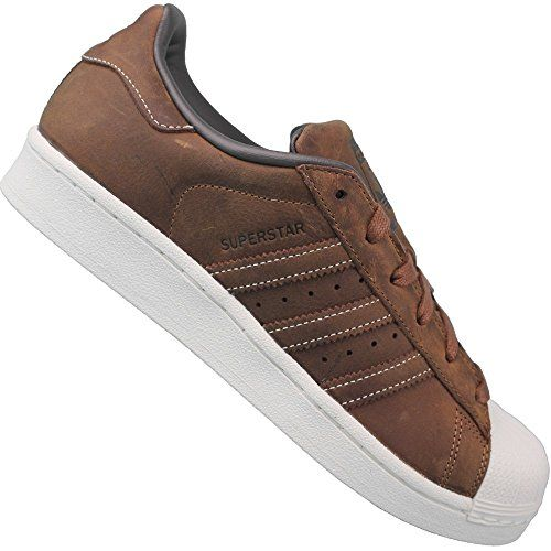 Adidas Superstar Hellbraun