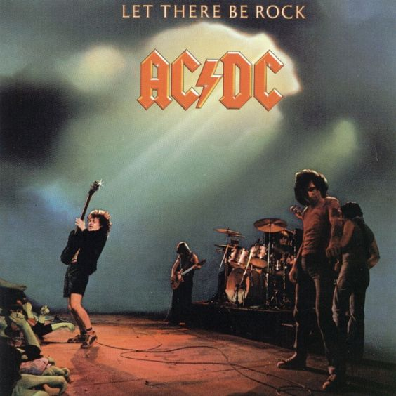 AC/DC – Let There Be Rock (single cover art)