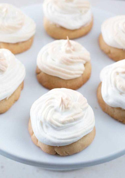 Lemon Meringue CookiesReally nice recipes. Every hour.Show me  Mein Blog: Alles rund um die Themen Genuss & Geschmack  Kochen Backen Braten Vorspeisen Hauptgerichte und Desserts # Hashtag