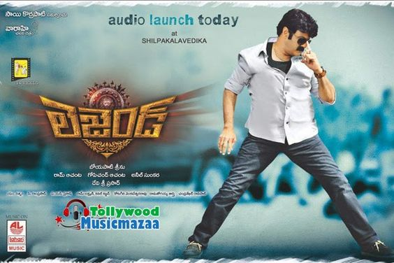 legend movie balakrishna songs