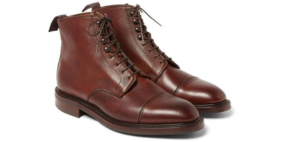The Footwear Fix: Kingsman   George Cleverley Scotch Grain Boots  - Esquire.com