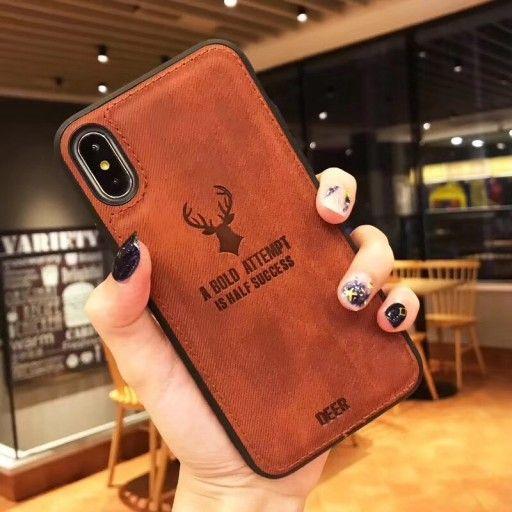 Iphone Xs Max Case Etui Zamsz Deer Jelen Obudowa 7826636974 Oficjalne Archiwum Allegro Iphone Iphone 7 Case