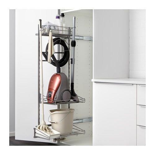 Utrusta Rangement Produits Entretien Ikea Rangement Aspirateur Rangement Cellier Rangement