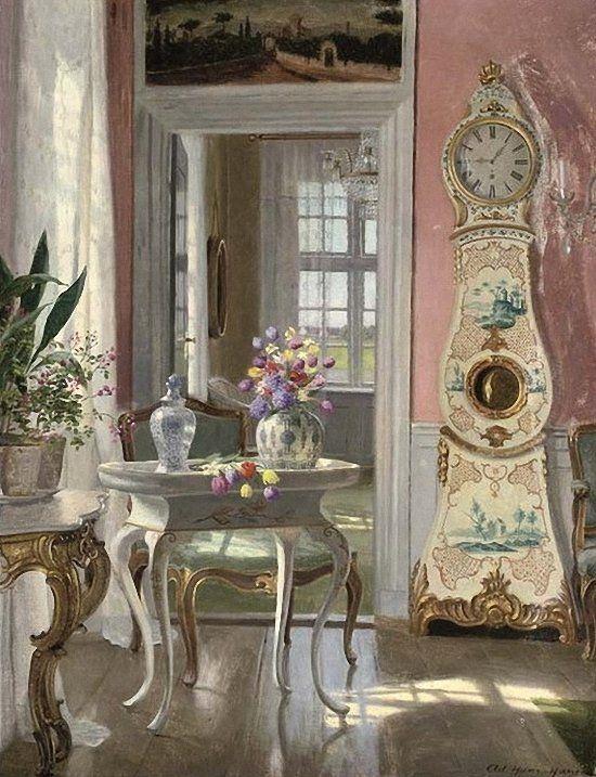 Adolf Heinrich Claus Hansen  (Danish, 1859 - 1925):