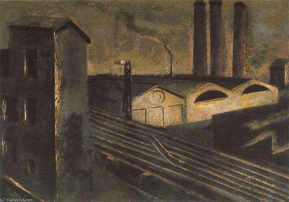 unbetitelt 2299 von Mario Sironi (1885-1961, Sardinia)
