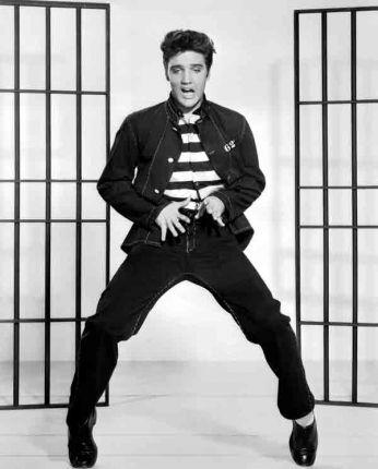 Dancing Jailhouse Rock - 1957. Cena do clipe da música Jailhouse Rock, 1957.