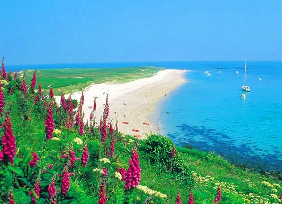 Herm Island, The Channel Island. A little bit of British paradise.