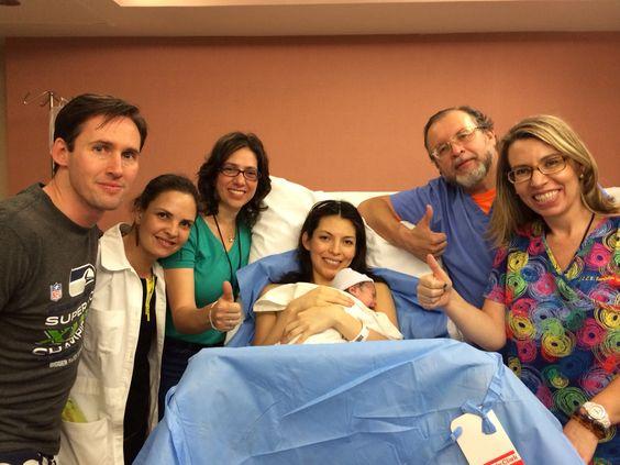 Felicidades Michael y Gisela #psicoprofilaxismontana #parto #partorespetado #doula
