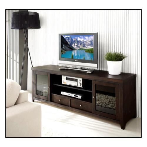 """Abbyson Living - Sienna TV Console for Flat-Panel TVs Up to 72"""" - Alternate View"""