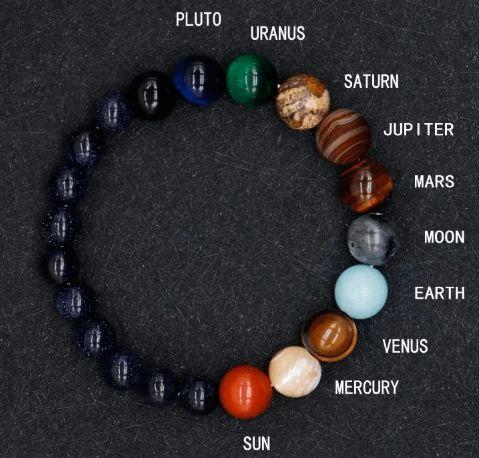 Homemade Solar System Bracelet