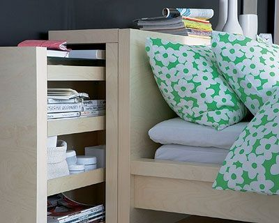 Ikea lits and malm on pinterest - Etagere tete de lit ikea ...