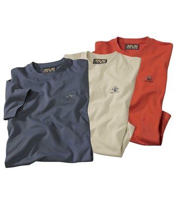 Lot De 3 Tee-Shirts Andes : http://www.atlasformen.fr/products/grandes-tailles/lot-de-3-tee-shirts-andes/6782.aspx