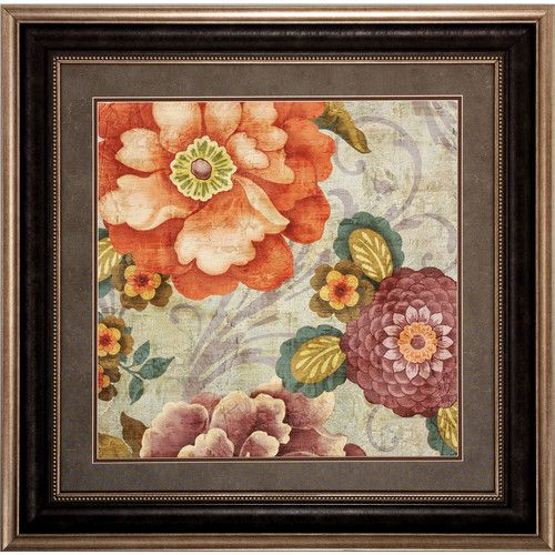 Found it at Wayfair - Tapestry 2 Piece Framed Graphic Art Set