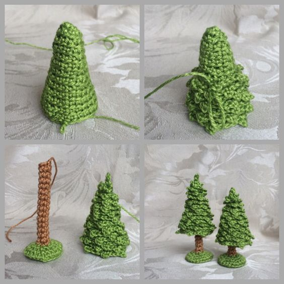 Crocheted Christmas tree                                                                                                                                                                                 More: