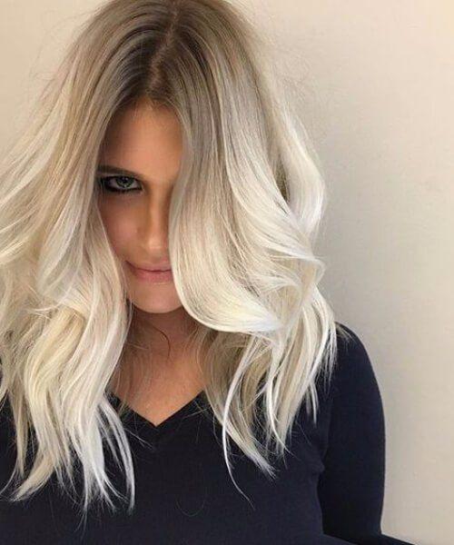 Neue Frisuren 2017 45 Bombshell Blonde Balayage Ideen