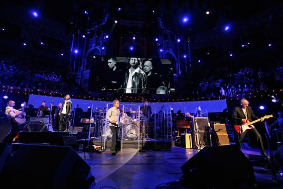 06 April 2010 ` The Who performed  QUADROPHENIA AT THE ALBERT HALL for the Teenage Cancer Trust. Special guest Eddie Vedder o(Pearl Jam) joined them on stage.