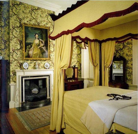 Georgian bedrooms beautifully restored georgian for Georgian bedroom ideas