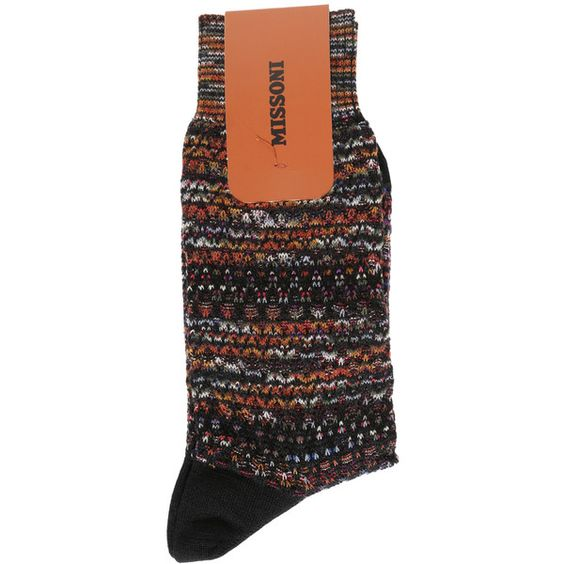 MISSONI Space Dye Socks ($75) ❤ liked on Polyvore featuring mens, men's clothing and men's socks
