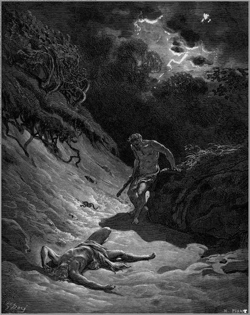 """""""Morte de Abel"""" - Gustave Doré"""