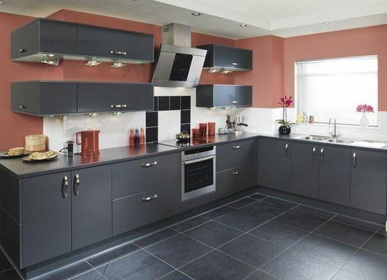 Cuisine gris anthracite - 56 idées pour une cuisine chic et moderne - nolte küche planen