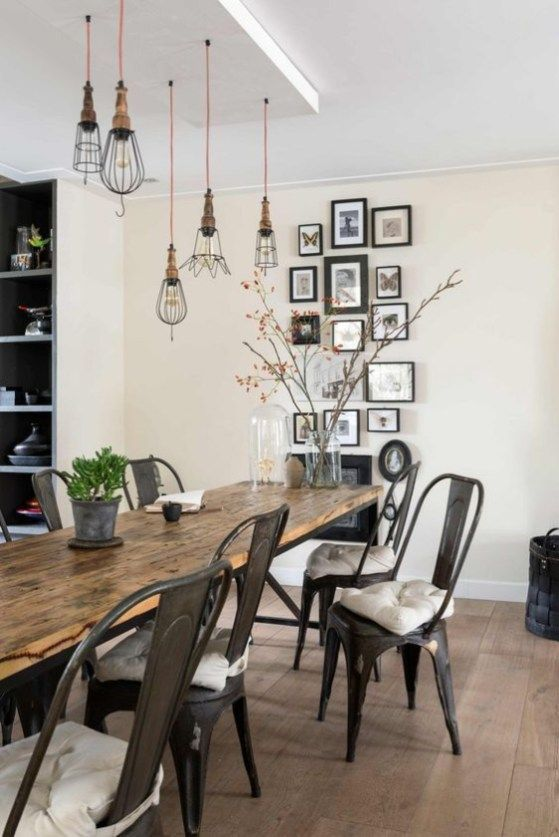 52 Rustic Industrial Decor And Design Ideas Dining Room