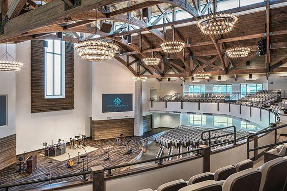 modern church interior design - Google Search