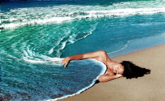 #Relax #Woman #Beach #Blanket — #MindBodySpirit. Brought to you by SunGoddess Magazine: Igniting the Powerful Goddess WIthin http://sungoddessmagazine.com