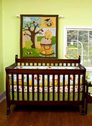 Forest Critters Crib Bedding
