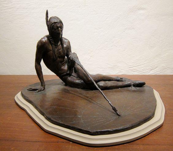 https://flic.kr/p/NDDxar   Frederic Allen Williams, Arrowmaker Sundial, 1944   Bronze