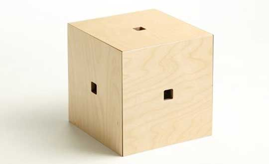 Unique And Simple Stackable Stool In Cube Shape   Totem Stool | Office |  Pinterest | Totems, Stools And Unique Home Design Ideas