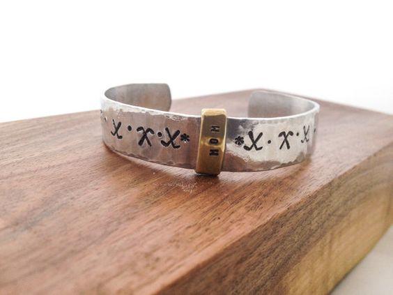 Hockey+Mom+Cuff+Bracelet++by+kkaydesigns+on+Etsy