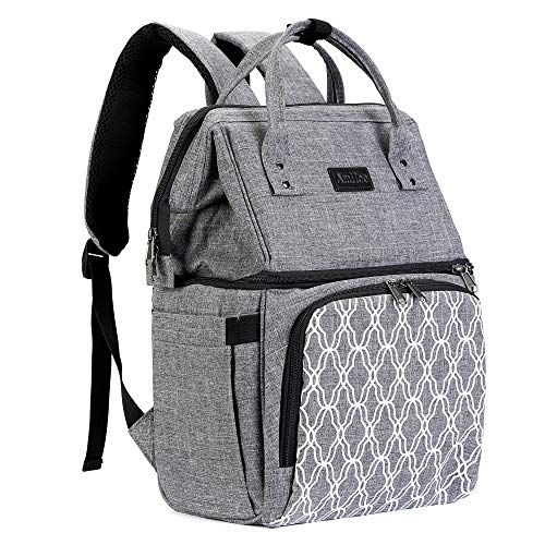Amhoo Insulated Lunch Box Cooler Backpack Waterproof Leak Proof