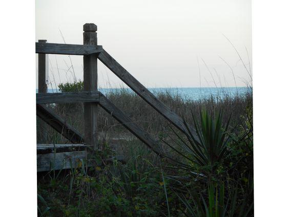 Walk way to the ocean... HS Beach Trip 2015    #beachboundwithmrs-robin!!