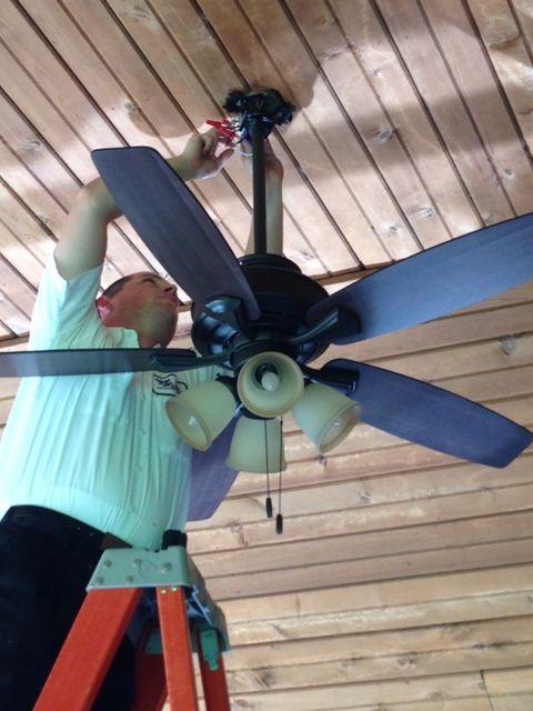 34 best indoor outdoor ceiling fan installation images on exterior ceiling fan installation for those hot summer days aloadofball Choice Image