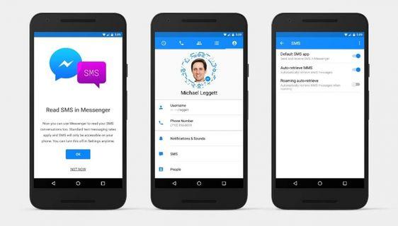 Facebook Messenger'da SMS Dönemi!