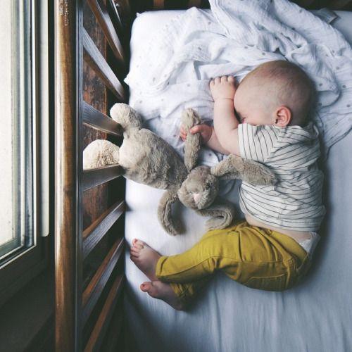 Sweet sleeping babe.