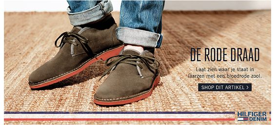 Tommy Hilfiger - Discover The Secrets Of Men's Shoes And Boots For The New Season