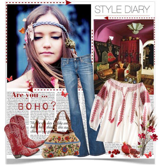 Style Diary: are you boho?, created by annabu: Boho Chic, Boho Cowgirl, Fashion Style, Hippie Bohemian Fashion, Bohemian Style, Boho Style