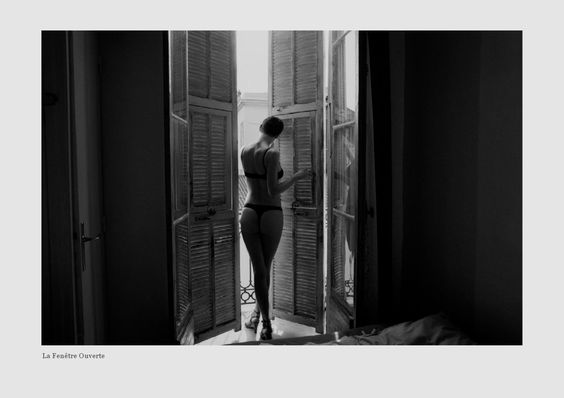 Saskia de Brauw by Vincent van de Wijngaard as 'La Chambre Bleue' - 0- New Posts Fashion Editorials, Sensual Living - Fashion Editorials, Art & Sensual Living Not for office and extremely beautiful!