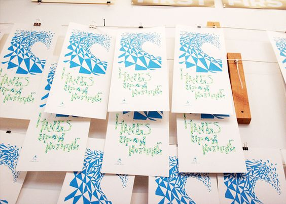 Class/workshop on how to make Screenprinted Posters