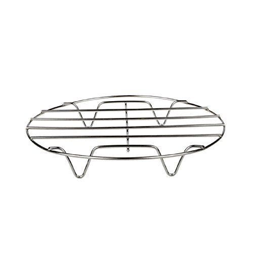 iuuhome Cooking Rack Round 304 Stainless Steel Baking and Cooling Steaming Rack W Stand Cookware Kitchen /& Dining